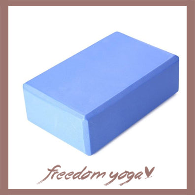Yoga Blocks and Bricks for Yoga Lovers - Blue pattern