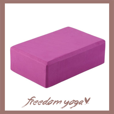 Yoga Blocks and Bricks for Yoga Lovers - Pink pattern