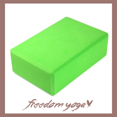 Yoga Blocks and Bricks for Yoga Lovers - Green pattern