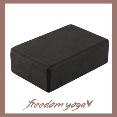 Yoga Blocks and Bricks for Yoga Lovers - Black pattern