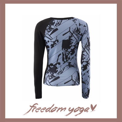 Fitness Yoga shirts with long sleeve - Tops Tracksuit