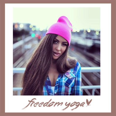 Fashion Yoga hat - Hip-hop pattern - 15 colors available