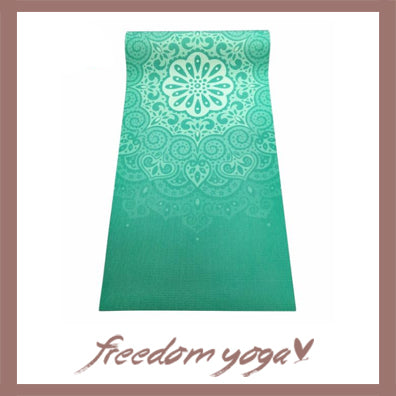 Yoga mat for Yoga Lovers - Environmental Tasteless pattern