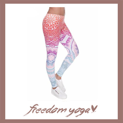 Legging Yoga pants : the best of women's Yoga Mandalas Pants