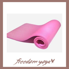 Yoga mat for Yoga beginners - Pink pattern