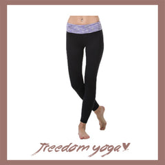 Legging Yoga and Fitness pants - Colorful strip pattern