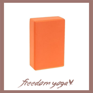 Yoga Blocks and Bricks for Yoga Lovers - Orange pattern
