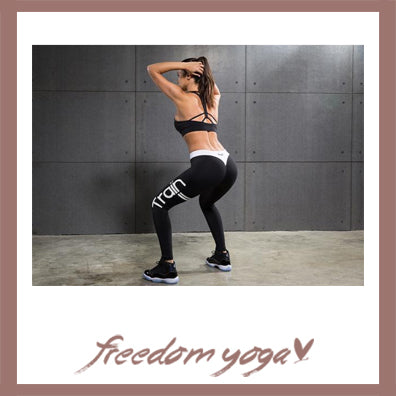 Legging Yoga pants - Train Sport pattern