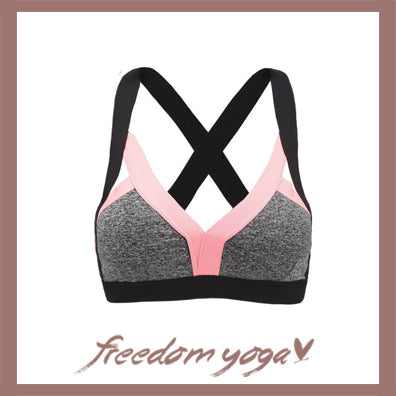 Yoga Tank Top - Sport and Fitness Bra - 3 colors