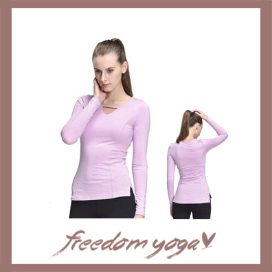 Fitness Yoga long sleeve sport t shirt for Yoga Lovers