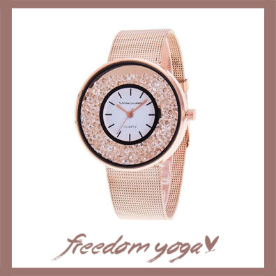 Fashion and Casual Watch for women - Luxury Valentine pattern