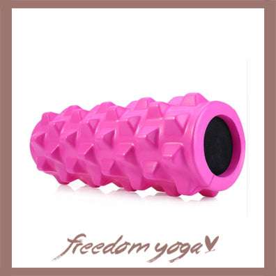 Yoga Blocks and Bricks Roller for Yoga Lovers - Pink pattern