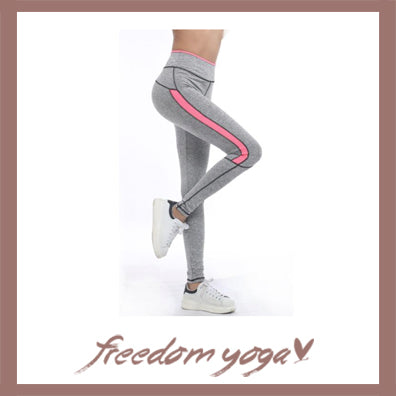 Legging Yoga pants - Lady Fluo pattern