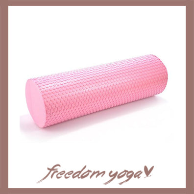 Yoga Blocks and Bricks Round for Yoga Lovers - Pink pattern