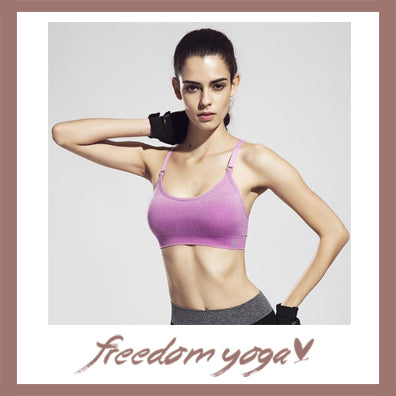 Yoga Vest Shakeproof Sport Bras - 4 colors