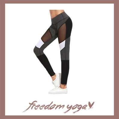 Legging Yoga pants - Fitness Mesh pattern