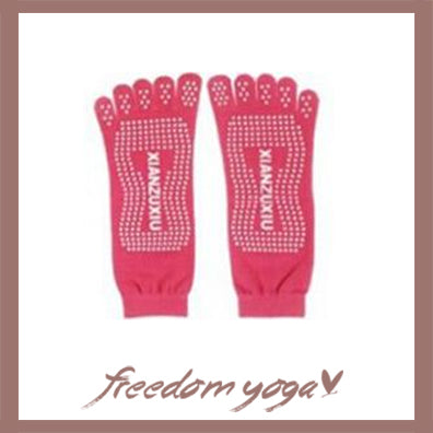 Yoga Toe Socks with toe separated - 5 colors