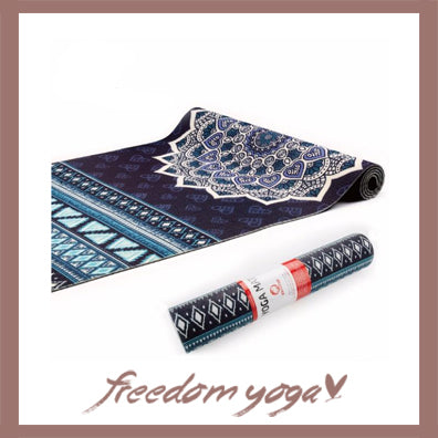 Yoga mat for Yoga Lovers - Mandala Design pattern