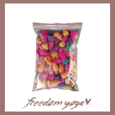 Bullet incences : 25pcs of incence for yoga practitioners