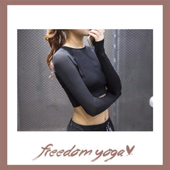 Fitness Yoga long sleeve sport top for Yoga Lovers