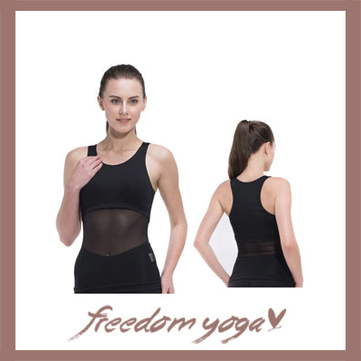 Yoga Tank Top - Transparent Pattern - 2 colors