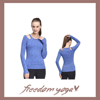 Fitness Yoga long sleeve top for Yoga Lovers