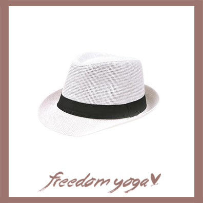 Fashion Yoga hat - Panama pattern - 5 colors available