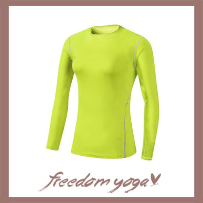 Long sleeve shirt for Yoga Exercisers - Lots of colors