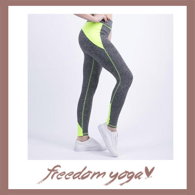 Legging Yoga pants - High Waist Bodybuilding pattern