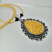 Diffuser Bead Pendant Necklaces