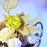Dried Wood Flower Arrangments Small