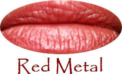 Red Shades Natural Lipstick in a Tube - More Pigmented Than Tinted Balms