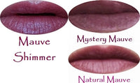 Mauve Shades Natural Lipstick in a Tube - More Pigmented Than Tinted Balms