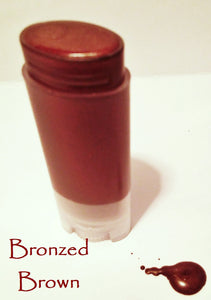 Maroon Shades Natural Lipstick in a Tube - Moisturizing but with more coverage than a tinted balm