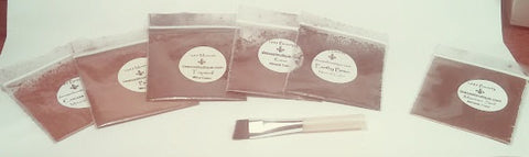 Promo Sampler Kit Mineral Eye Colors - Choose 2 and get a FREE Mini Eyeliner Brush for each