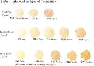 CUSTOM XLight-Light 4pk Trial Size - Cream Concealer - - zip locks
