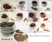 NEW Sampler Set - Bronzed Browns Assortment - Mineral Eye Colors - 10 Shades