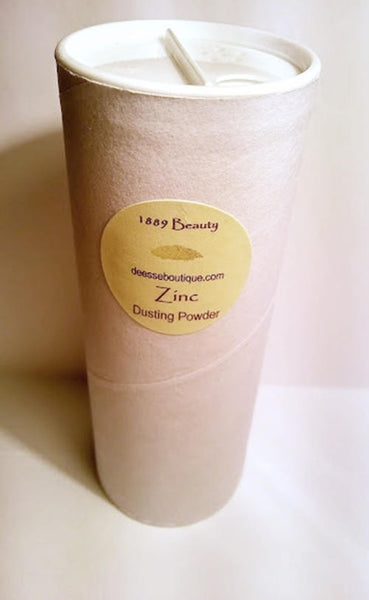 Natural Zinc Body Powder - Talc Free Dusting Powder 5 oz Cardboard Shaker