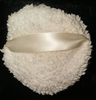 Fleece Body Powder Puffs - Large 4 1/2 inch size - 3 Styles to choose from