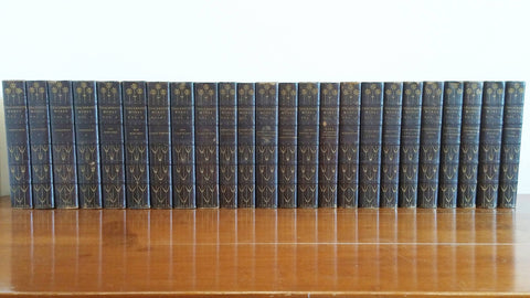 The Works of William Makepeace Thackeray Complete 24 Book Set - 1869