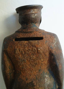 Arcade cast iron policeman bank 1920 - 1934