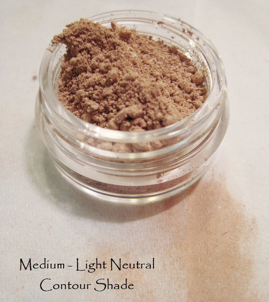 Matte Contour Mineral Color Refill Ziplock -  Neutral - Warm - Cool - Light thru Medium Complexions