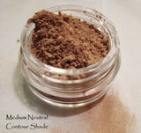 Mineral Makeup Matte Contour Shades -  Neutral - Warm - Cool - Light thru Medium Complexions