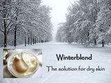 Winterblend Shea Butter Cream - 8oz Jar for Dry and Sensitive Skin