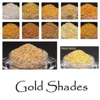 Samplers Glorious Golds - 5 Mineral Eye Makeup Samplers -Trial Size Packets