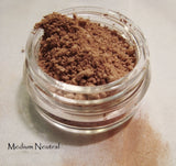 Eyebrow Mineral Color -  Neutral - Warm or Cool