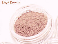 5 shade Trial Size Natural blush for light complexions - Loose Mineral Powder