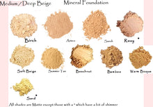 Med-Deep Shades 3pk Trial Size - Cream Concealer - made with natural mineral foundation - zip locks