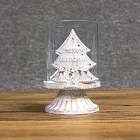 Europe Hollow Candlestick Christmas Home Decoration Merry Christmas Candle Holder for Tealight Candle Stand Wedding Candelabra