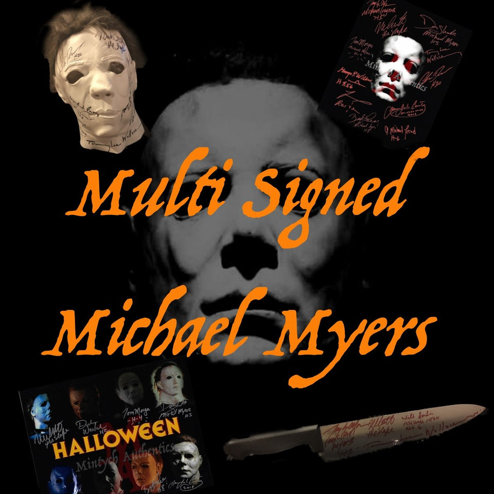 Multi Signed Michael Myers